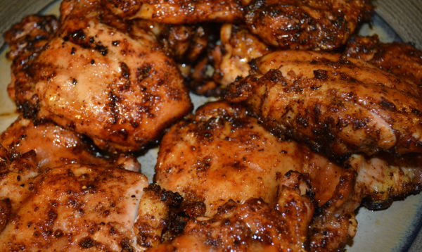 honey glazed ancho chicken