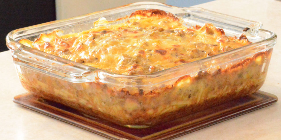 Breakfast Casserole with Hashbrowns