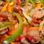 Turkey Sausage and Peppers