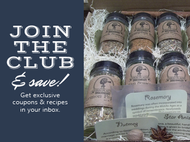 join the club and save - get exclusive coupons and recipes in your inbox