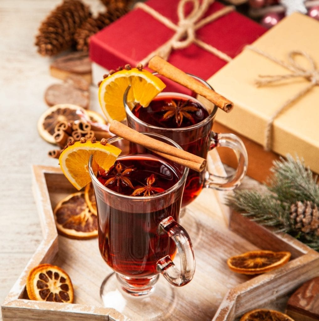 Mulled Wine with Star Anise